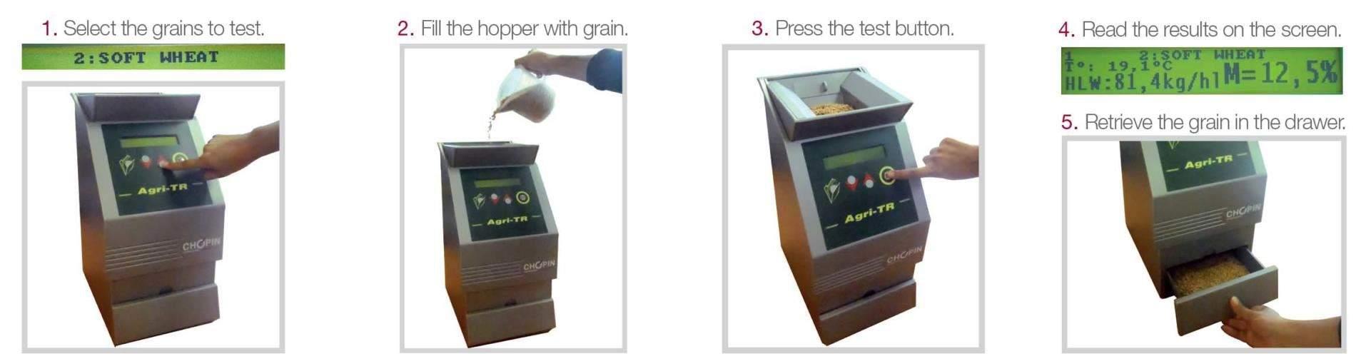 Máy đo độ ẩm hạt tự động
